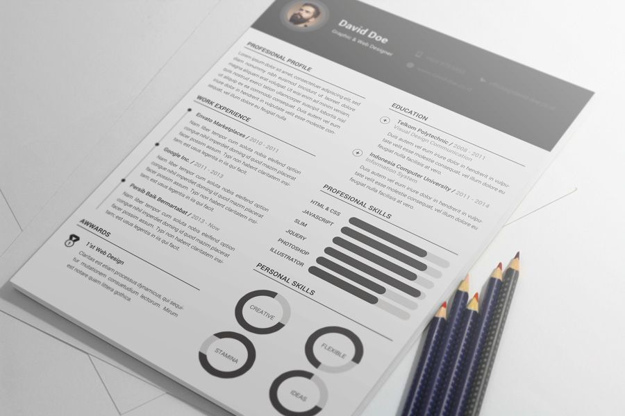 Free Clean Resume Template Resume template free