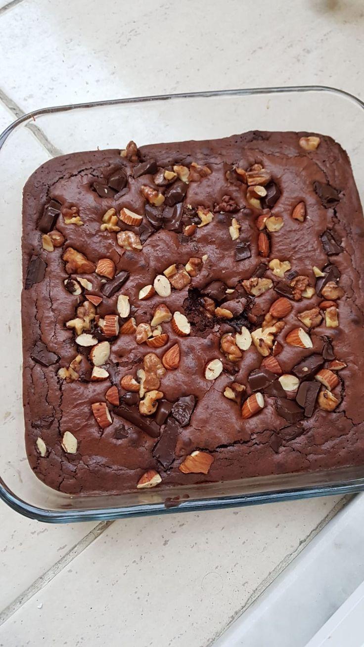 Ma meilleure recette de brownies au chocolat très moelleux   - Cuisine sucree -