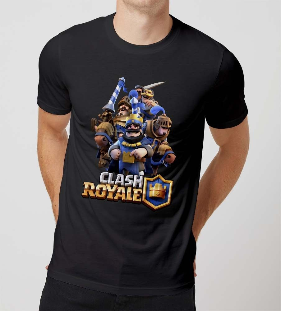 Popular T Shirt Clash Royale Game Cover Tee for MEN S-XL