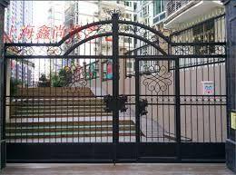European style iron door outdoor door courtyard door villa door opposite door entry door electric iron door seal …
