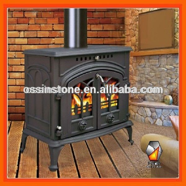 Source New Style Double Door Cast Iron Wood Burning Cook Stove On M Alibaba Com Soba