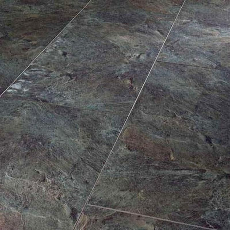 Aqua Tile Copper Slate Waterproof Click Vinyl Flooring ...