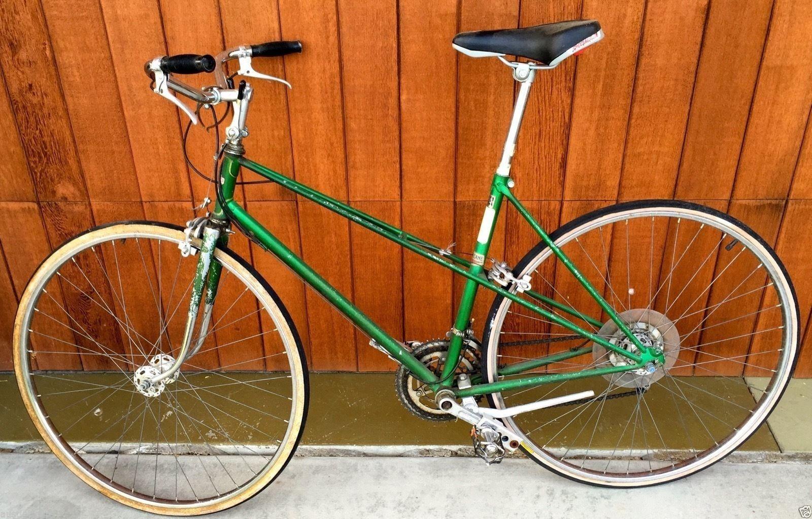 Vintage Womens Motobecane Campagnolo Road Bike Custom Race Adjustable Cranks Ebay Bike Bicycle Bicycle Maintenance