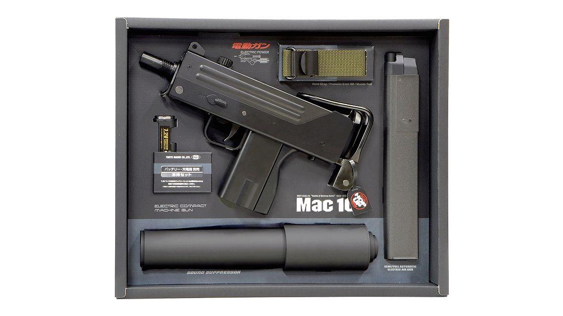 TOKYO MARUI MAC-10 AEG SMG | Guns | Mac 10, Tokyo marui, Mac