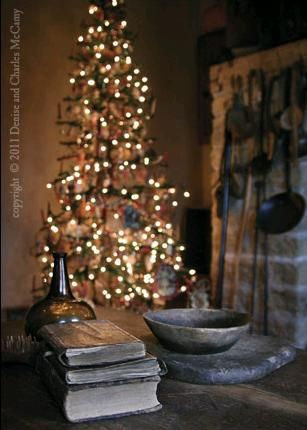 Beautifulso peaceful looking Christmas Pinterest - primitive christmas decorations