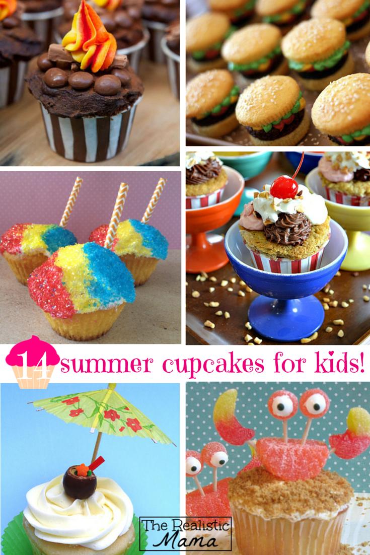 Fun kids for cupcakes photos