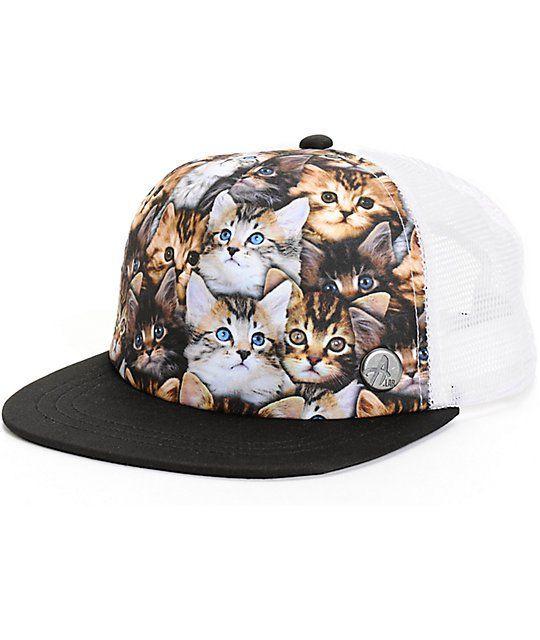 6dd694dcd4d A-Lab Cat-A-Culture Trucker Hat