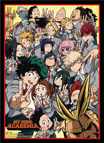 Check Out This Awesomely New My Hero Academia Season 2 Key Art Wall Scroll From Shadowanime Anime Anime Wall Art My Hero Academia