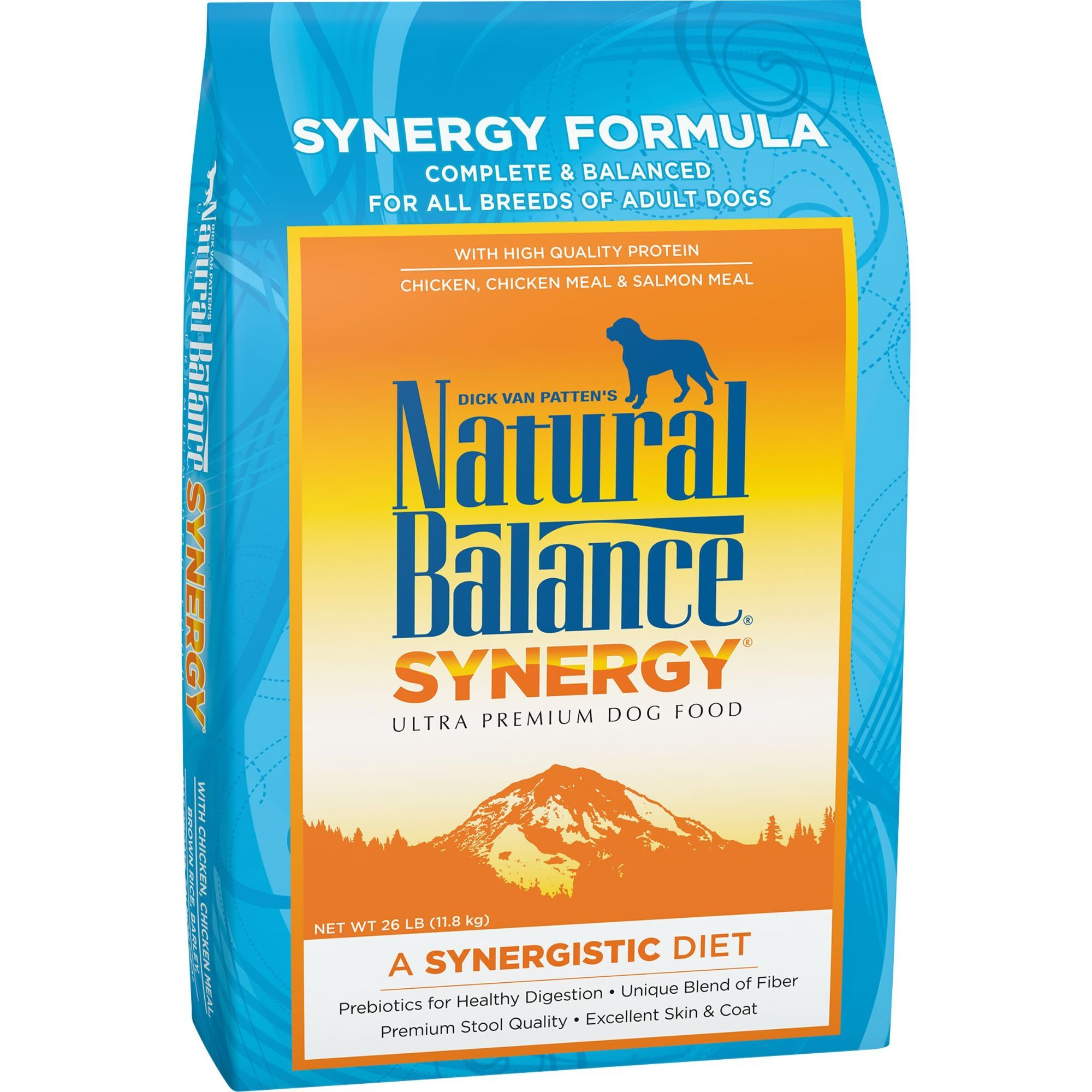 Natural Balance Prebiotics Synergy Chicken Meal Salmon Meal Dry