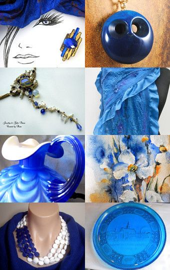 There's That Gorgeous Color Again! by Deborah Muller on Etsy--Pinned with TreasuryPin.com
