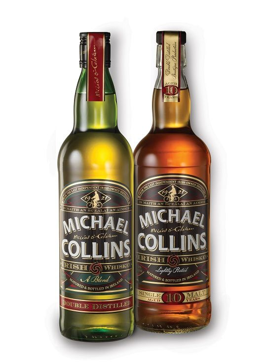 Michael Collins Irish Whiskey Comes In Both Malt And Blended