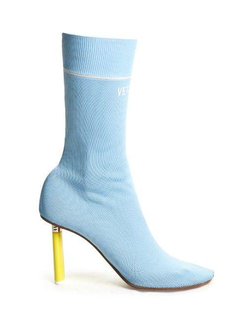Vetements Sock ankle boots | Shoes | Pinterest | Ankle boots ...