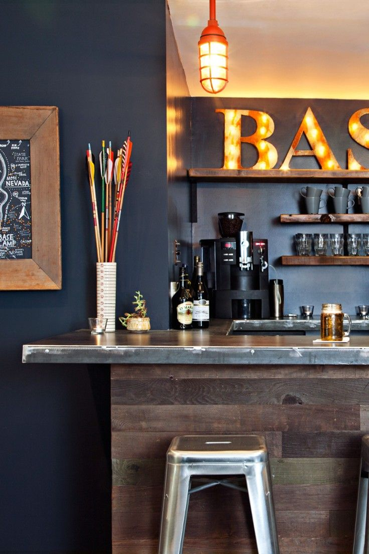 Basecamp Hotel - Lake Tahoe, California - The intimate coffee shop-slash-bar is a cozy spot to mingle and swap stories.