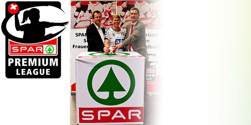 SPAR Switzerland Title Sponsor of Women's Handball League