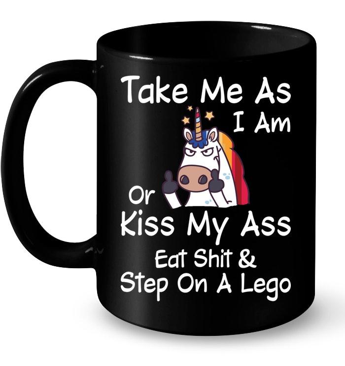 Take Me As I Am Or Kiss My Funny Mugs Coffee Mugs Unique Coffee Mugs Funny Coffee Mugs #uniquecoffee
