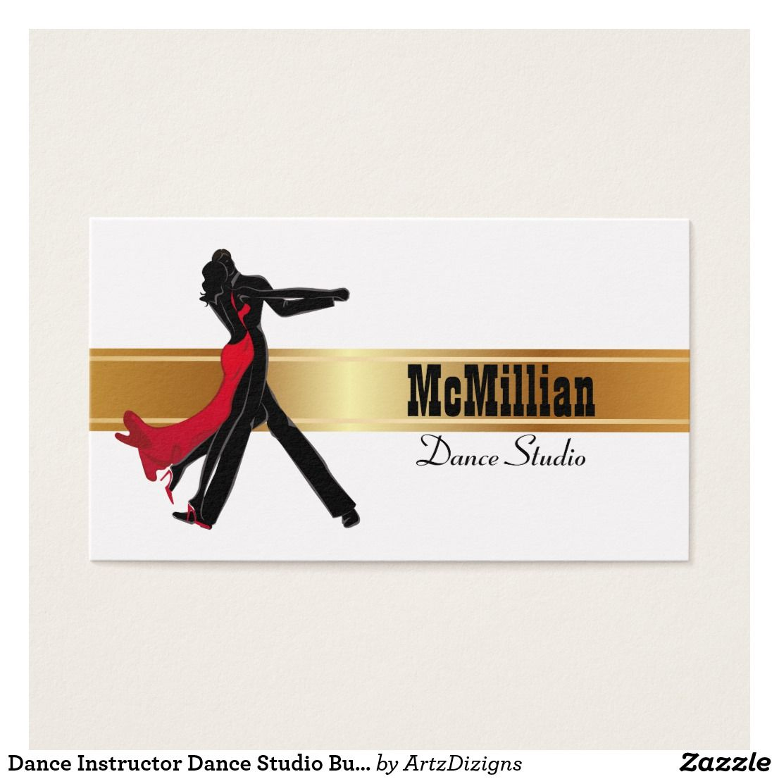 Dance Instructor Job Description Beauteous Dance Instructor Dance Studio Business Cards  Dance Instructor .