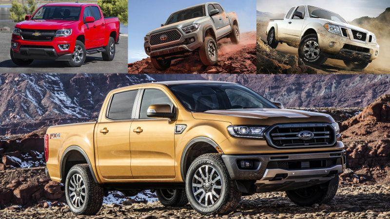 Comparison 2020 Jeep Gladiator vs. 2019 Ford Ranger