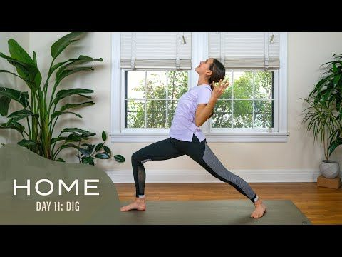 home  day 11  dig  30 days of yoga with adriene