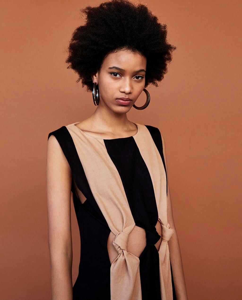 c08a56de Two Tones, Backless, Dresses, Zara, Fashion, Stripes, Gowns, Bicolor