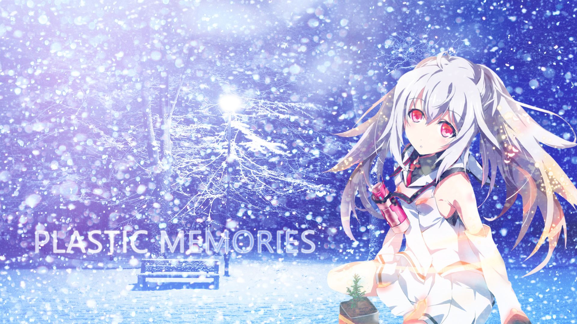Plastic Memories Computer Wallpapers Desktop Backgrounds 1920x1080 Id 657811 Plastic Memories Memories Anime Anime Mermaid