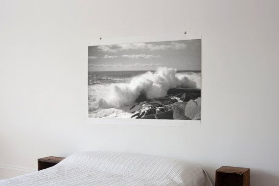 i giant wave/ocean photo above your bed