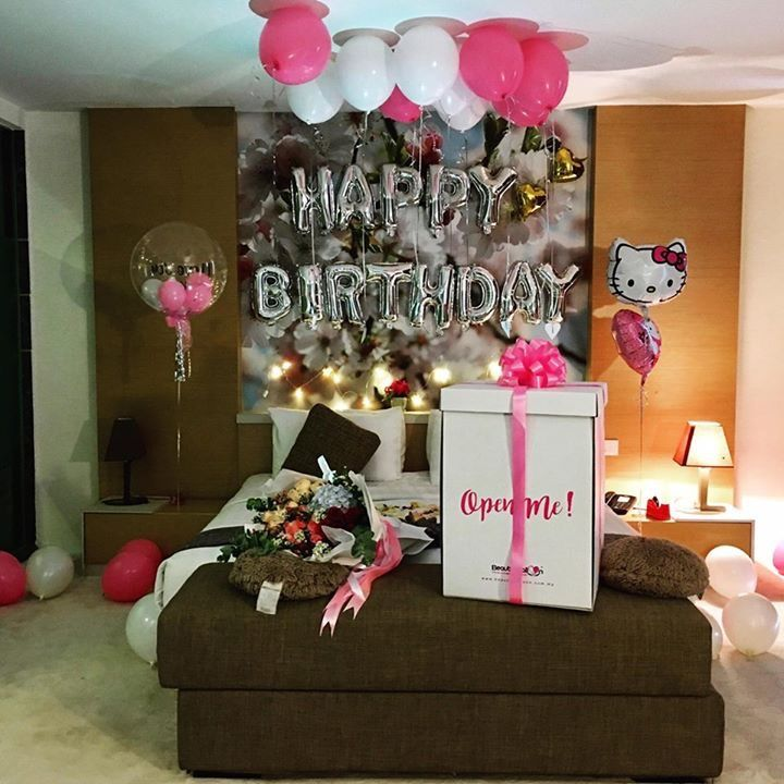 Surprise Birthday Set Up By Mitori Florist Gifts Best Birthday Surprises Birthday Goals Birthday Presents For Girlfriend