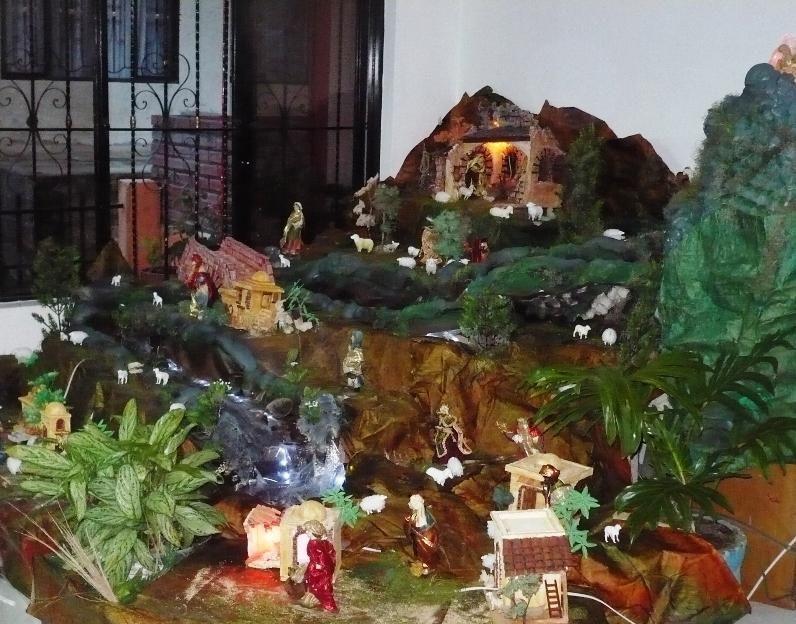 f2cfdecaf35 Pesebre en casa de mi hermano Jesús Medardo López Solarte en El Tambo Cauca  Colombia