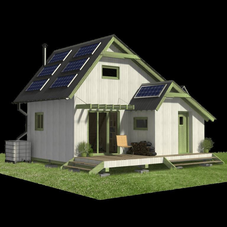 Eco Cabin Plans Eco House Plans Cottage Plan Diy House Plans