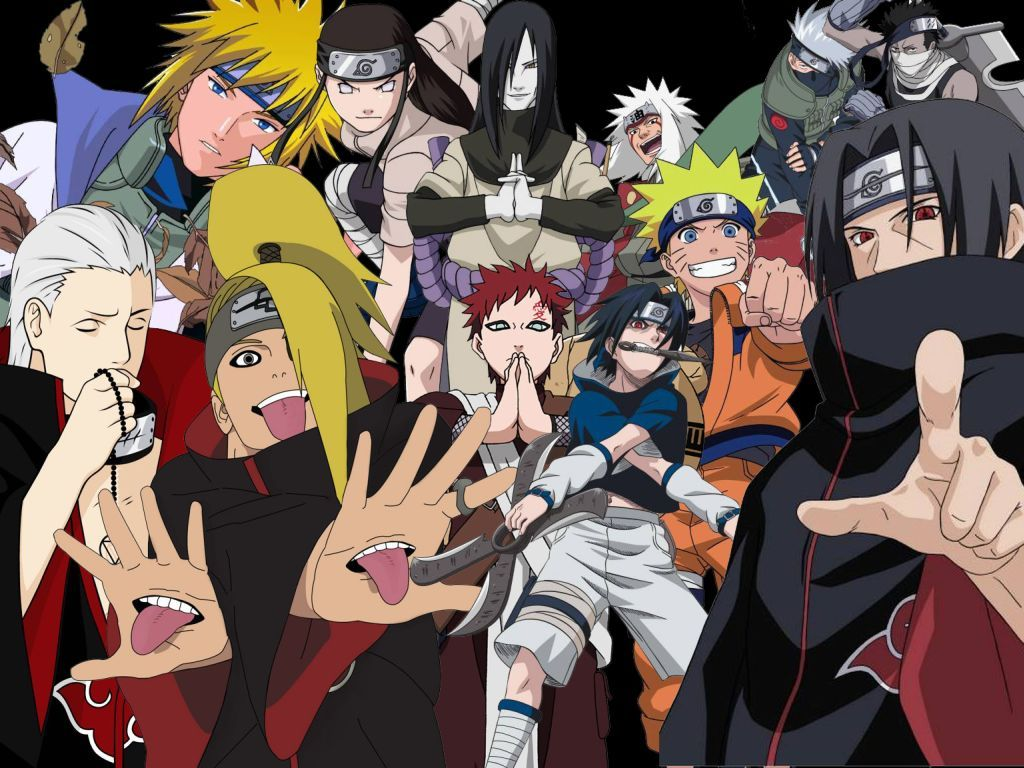 Naruto Shippuden Characters Wallpapers Hd Background Wallpaper Character Wallpaper Anime Anime Characters