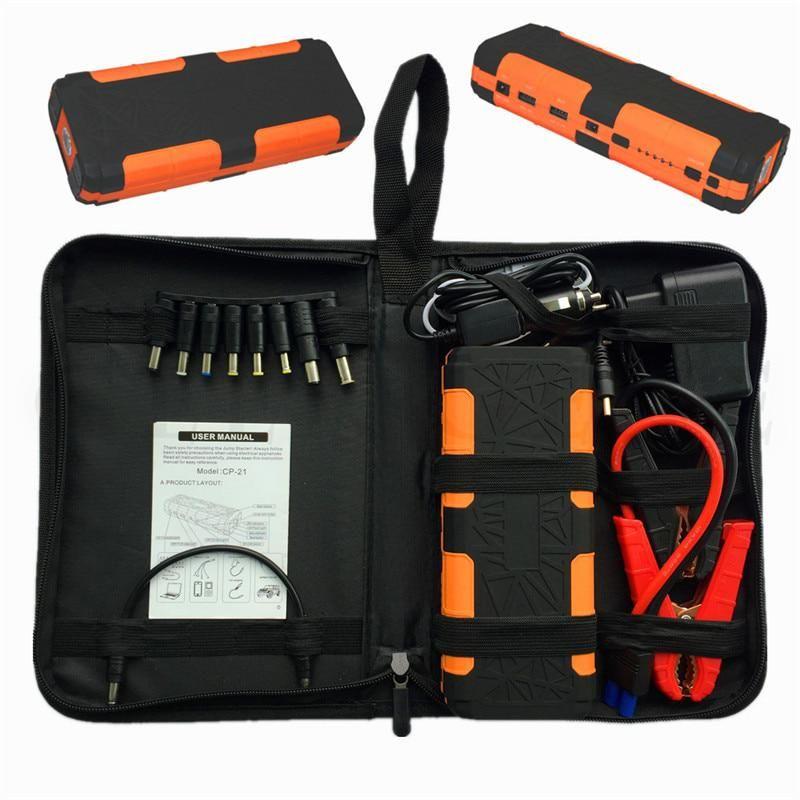2018 Car Jump Starter 20000mah Portable Starter Power Bank 12v Charger For Car Battery Booster Diesel Car Battery Charger Jump A Car Battery Car Battery Hacks
