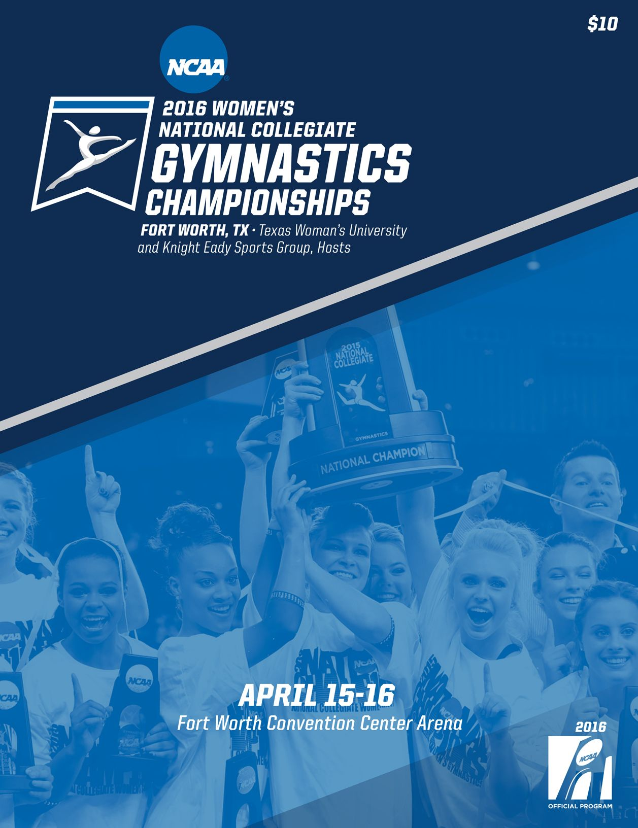 The official 2016 NCAA Women's National Collegiate