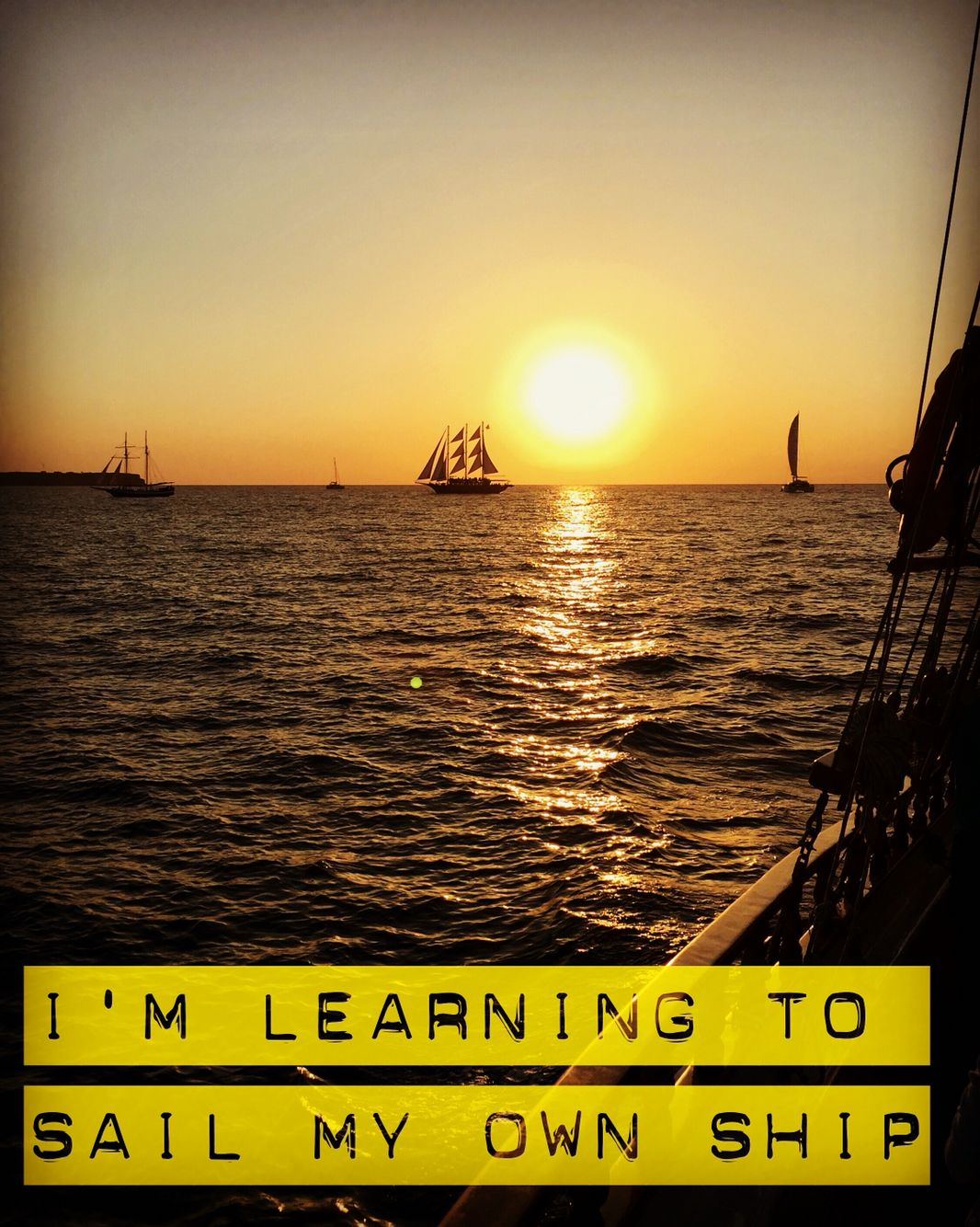 Ship Quotes Sail Your Own Ship  Quote Of The Day 365  Pinterest