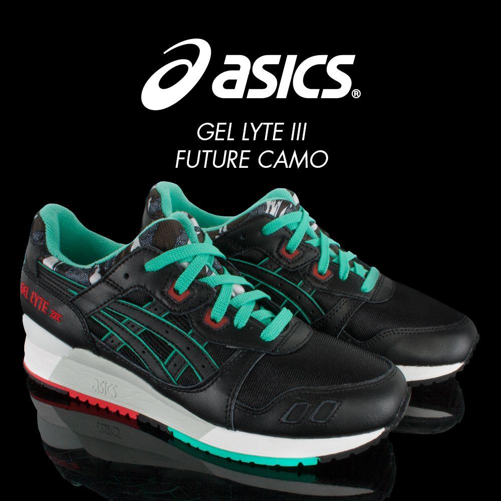 New Arrivals #asics #gellyte #gellyteIII #futurecamo #sneakers #fashion  #wivah