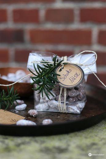 Geschenke aus der Küche - Schokonüsse selbermachen - Mitbringsel
