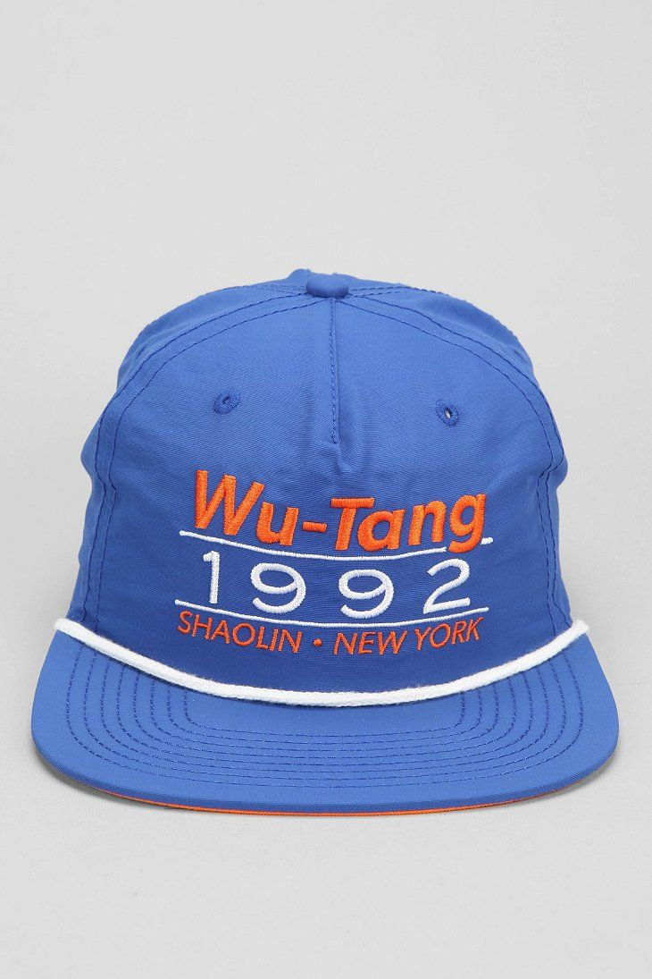 Wu Tang 1992 Snapback Hat - Urban Outfitters  bf391849f919