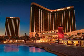 Mandalay Bay Las Vegas, smells like vacation and just close enough and just far enough away.