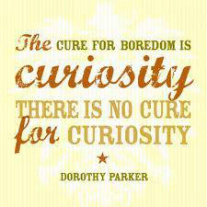 Curiosity Curiosity Quotes Boredom Quotes