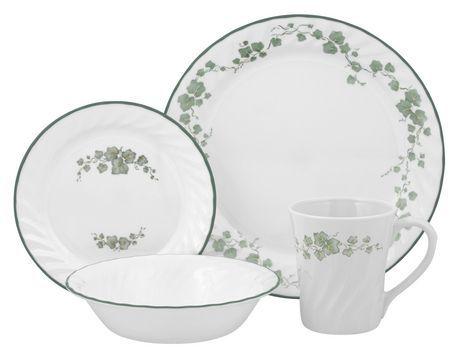 Corelle Impressions Callaway 16 Piece Dinnerware Set Walmart Ca