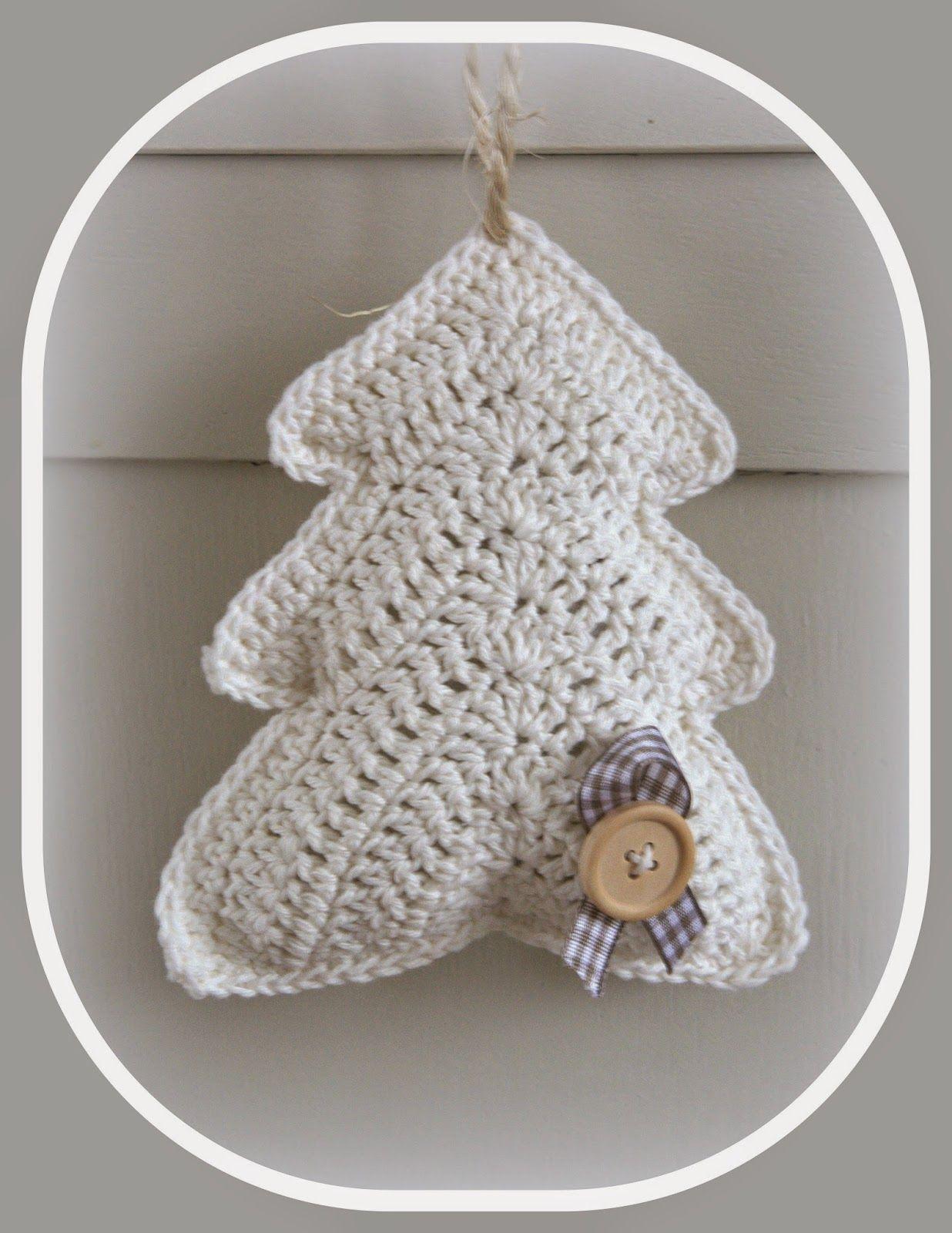 Hip & Kneuterig: Kerstboompjes haken! | Crochet | Pinterest | Häkeln ...