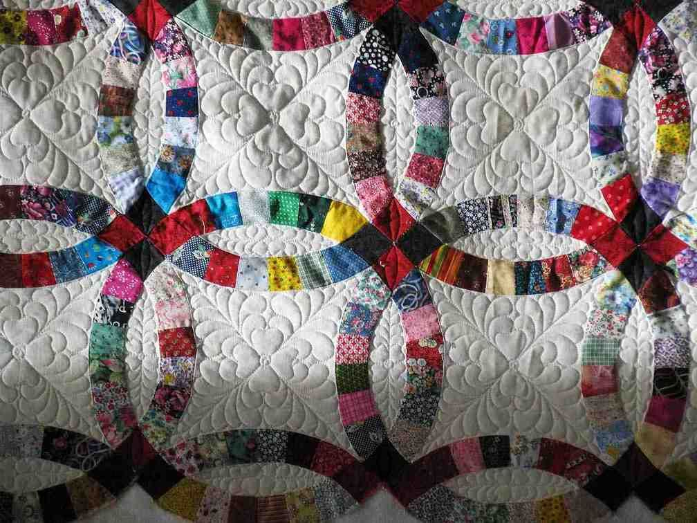 Double Wedding Ring Quilt Pattern Wedding Ring Quilt Double Wedding Rings Double Wedding Ring Quilt