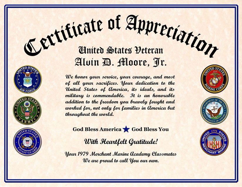 Pin by Shannon Vinson McCloud on Veterans Day Certificate of