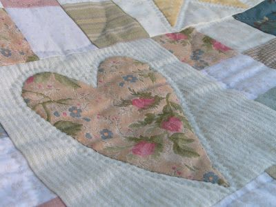Tea Rose Home: Down Memory Lane---Quilts for Rachel---by Sachiko