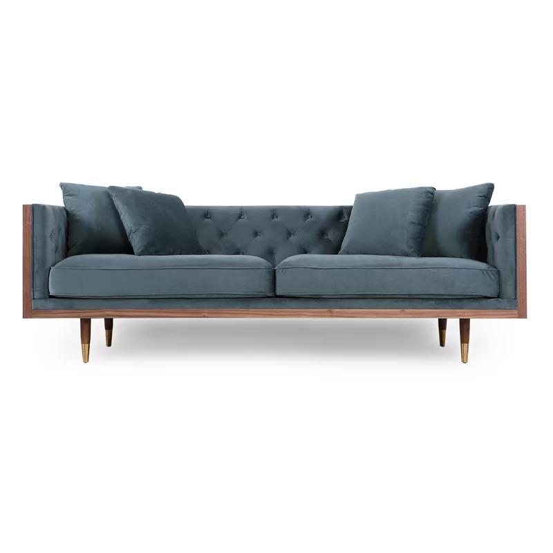 Modern Rustic Interiors Ledger Sofa Reviews Wayfair Furniture Sofa Furniture Modern Leather Chesterfield Sofa