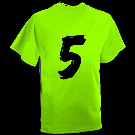 neon green baseball jersey