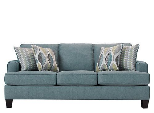 Donu0027t Go Neutralu2014go Natural. Inspired By Natureu0027s Beauty, The Willoughby  Sofa Is A Breath Of Fresh Air. Aqua Upholstery Livens Up Your Room, ...