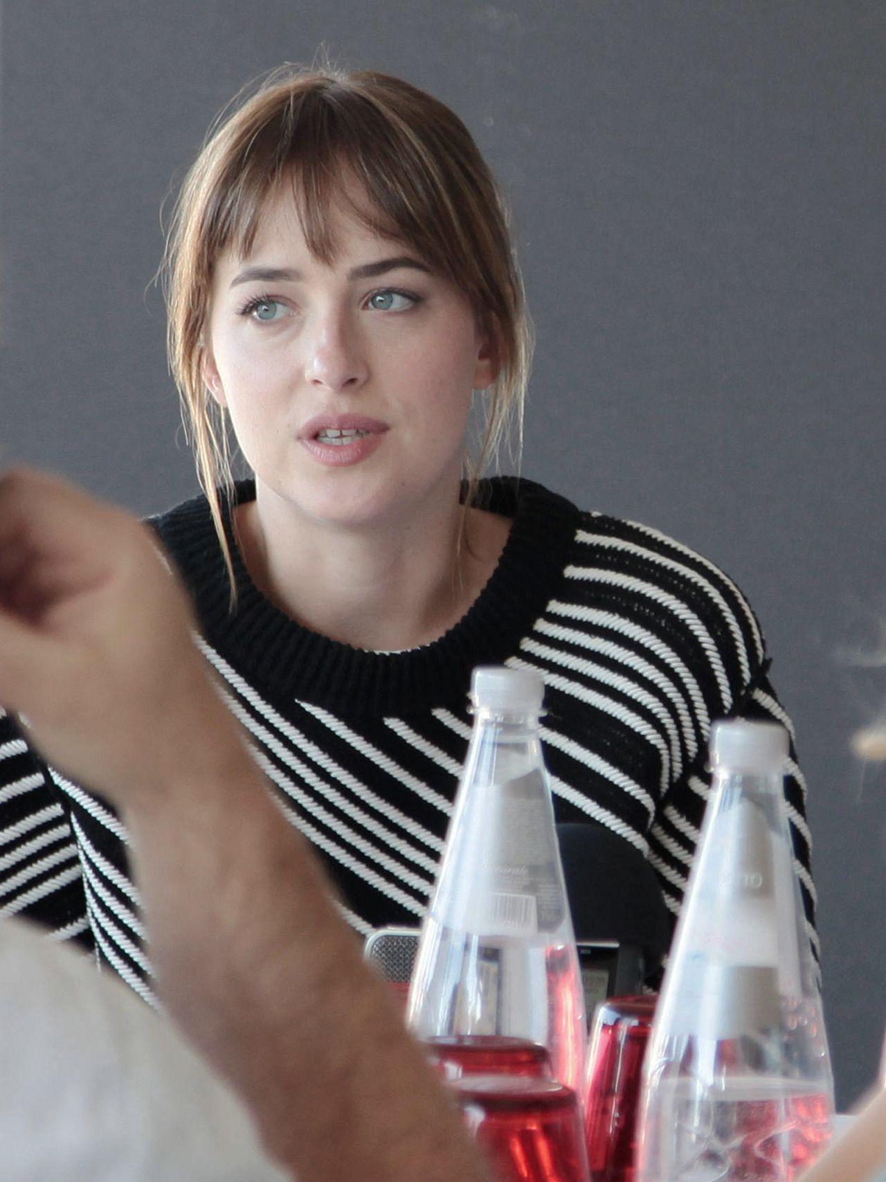 Dakota Johnson at the A Bigger Splash press junket in Venice - 7 Sep 2015