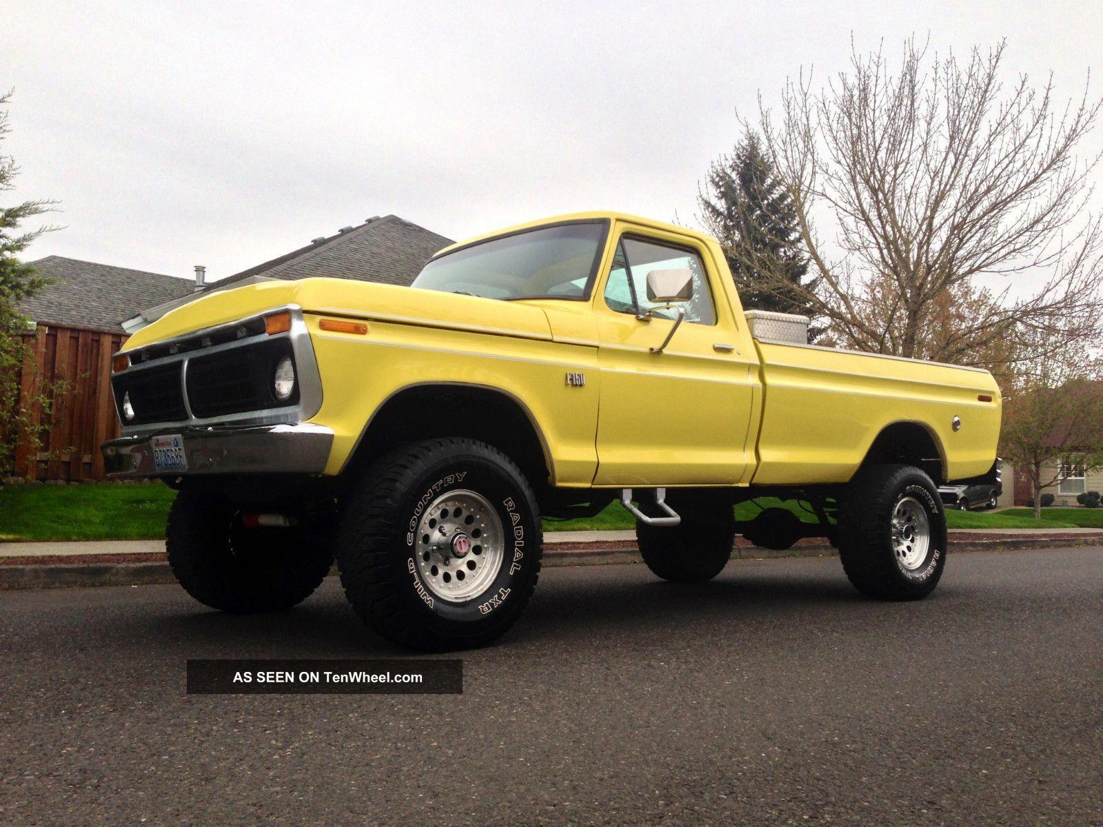 Image From Http Tenwheel Com Imgs A B A C M 1976 Ford F150 Ranger 4x4 Xlt Longbed 1977 1975 1978 1974 1 Lgw Jpg Ranger 4x4 Ford F150 79 Ford Truck