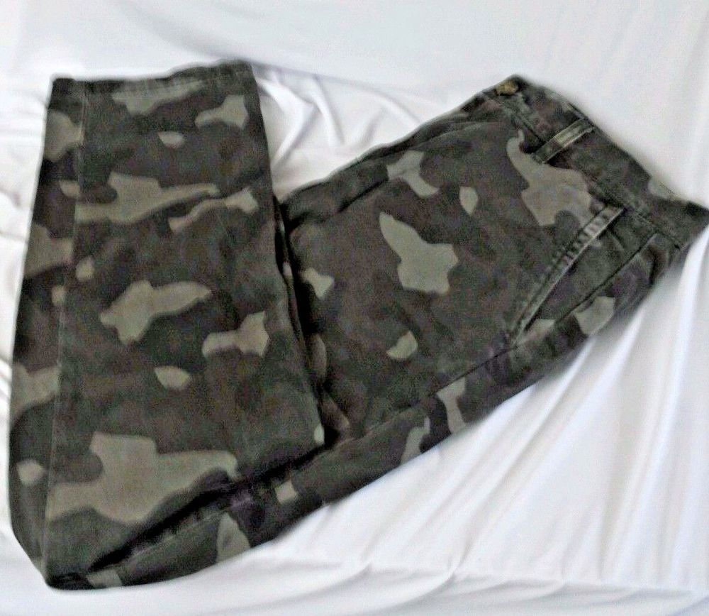 686638555d07f Tommy Hilfiger Mens Camouflage Custom Fit Military Hunting Pants Size 30x30  Flag #TommyHilfiger #Camouflage