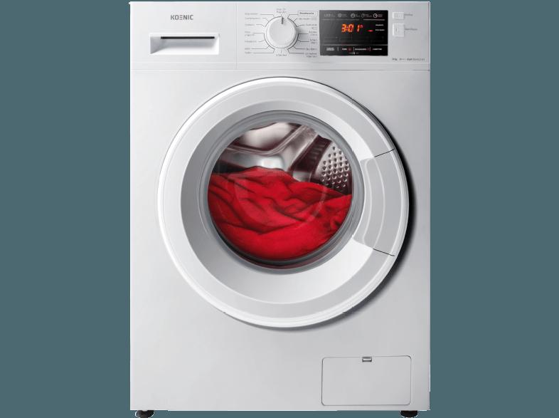 Koenic Kwm 81412 A3 Waschmaschine 8 Kg 1400 U Min A 04049011139640 Kategorie Haushalt Bad Wasche Waschmaschin Waschtrockner Waschmaschine Wasche
