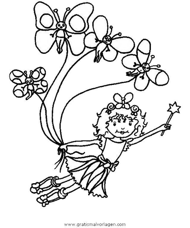 prinzessin lillifee trickfilmfiguren gratis malvorlagen | coloring 2 ...